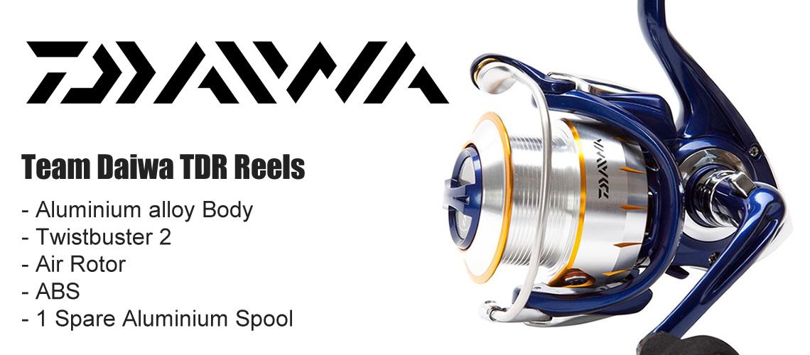 team daiwa reels